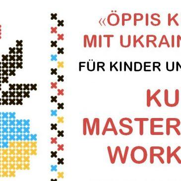 Öppis Kreatives mit Ukrainer in Basel