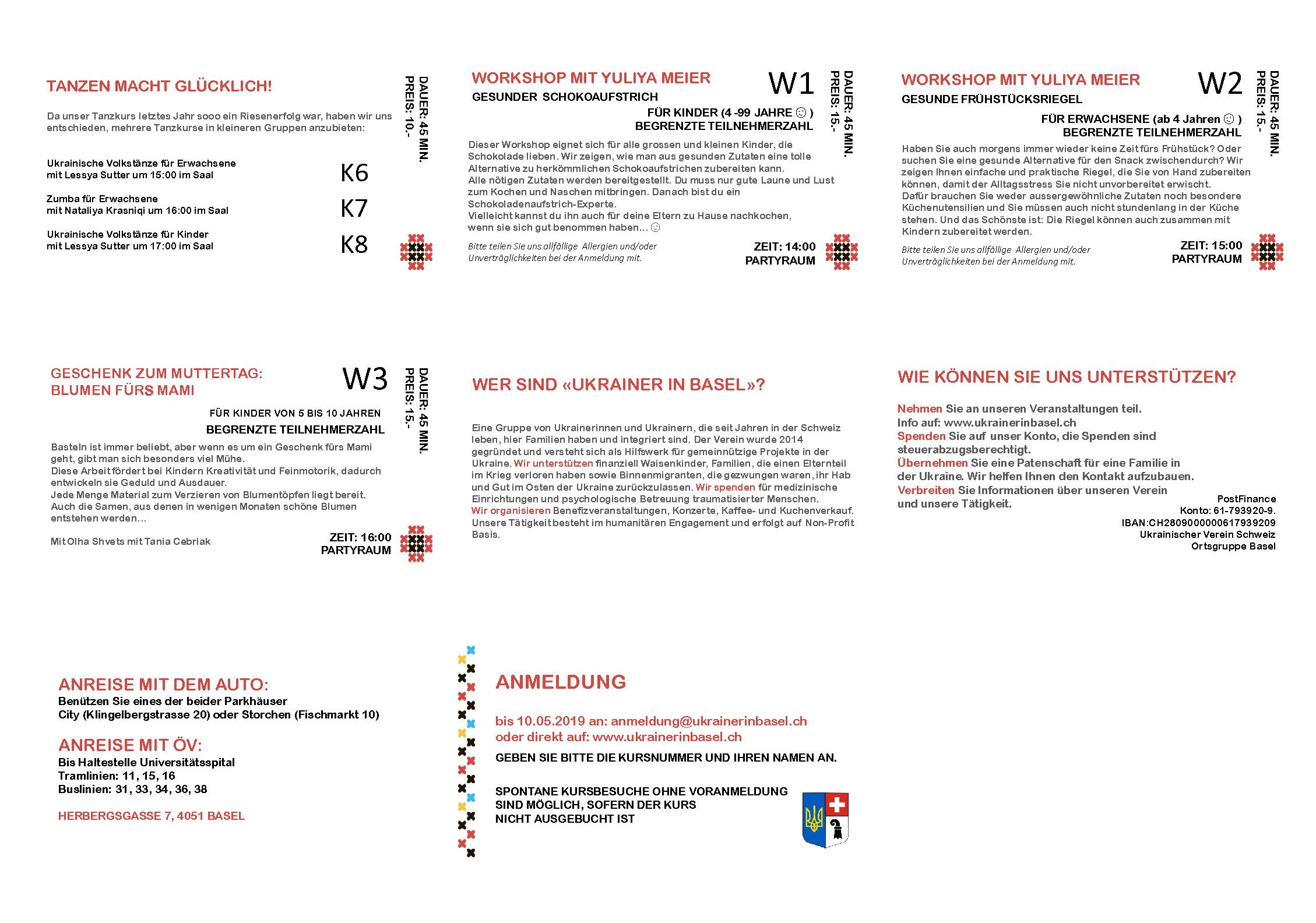 Programm Teil 2